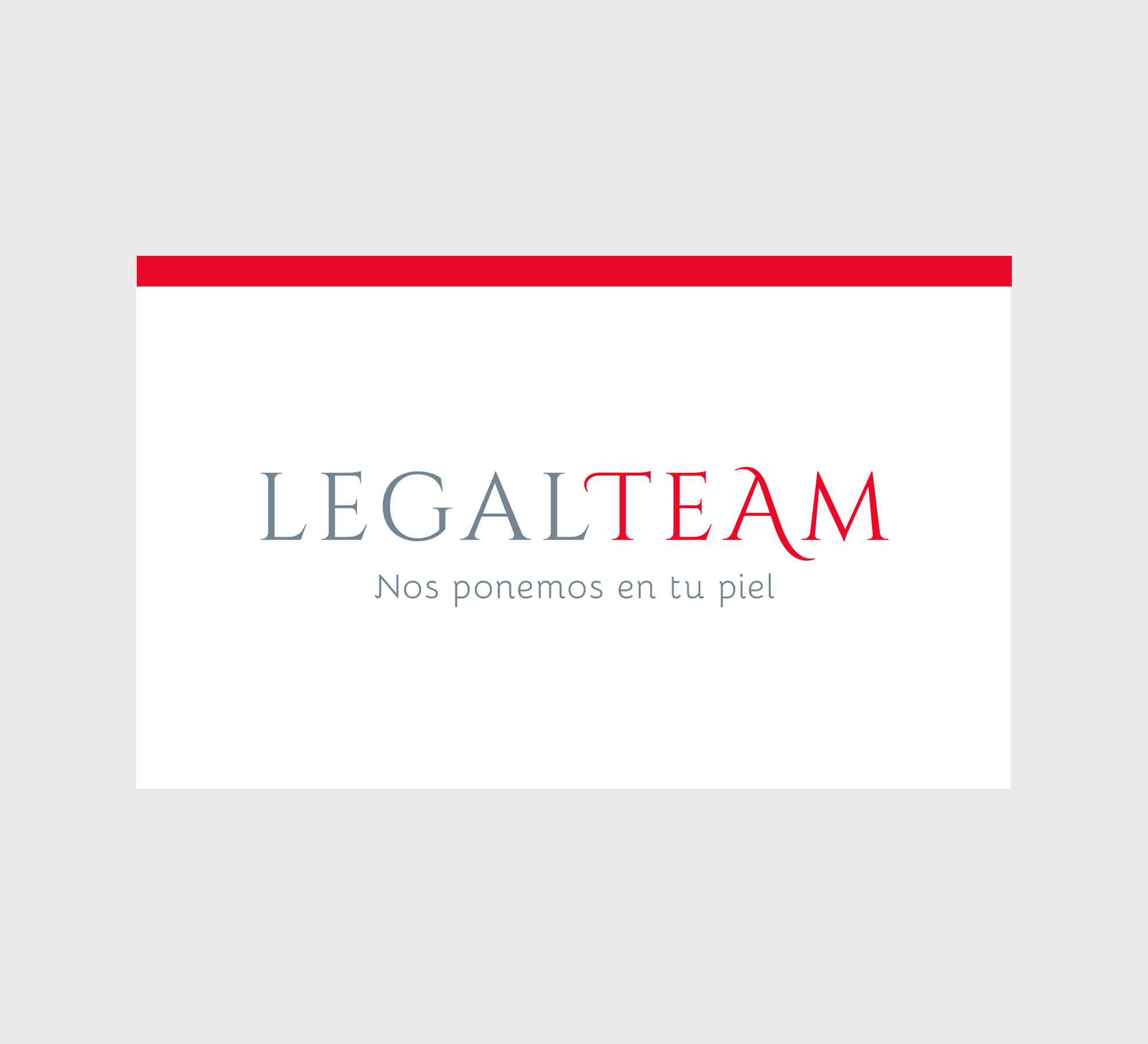 logotipo legalteam