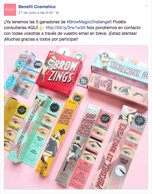 Benefit BrowChallenge RS2